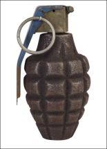 grenade and pin